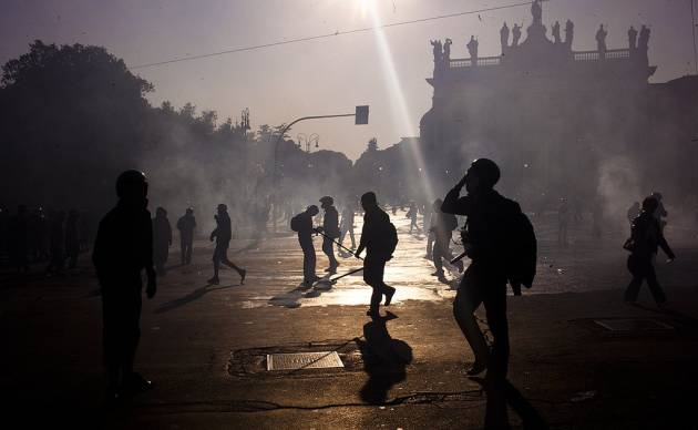 [DallaRete] 15.10.2011, filosofia giudiziaria e violenza di piazza