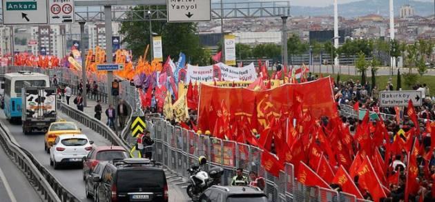 [DallaRete] 1 Maggio a Istanbul