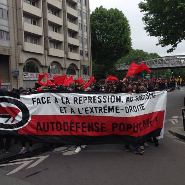 [News] Parigi – Cariche contro il corteo antifascista dedicato a Clement Meric