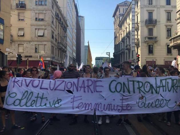 [DallaRete] Le Collettive Femministe Queer cacciate dal corteo di #MilanoPride