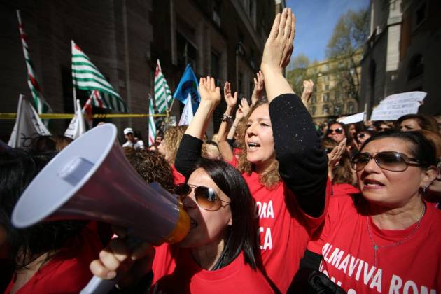 [DallaRete] Almaviva, è «pax» renziana: revocati i licenziamenti