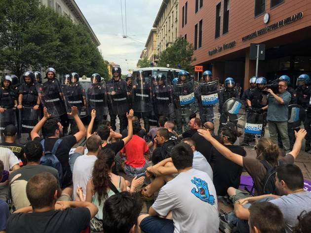 Milano – Una giornata NoBorder in giro per la metropoli