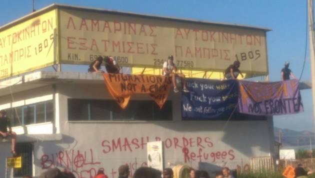 [DallaRete] Salonicco – #NoBorderCamp against migrant's jails