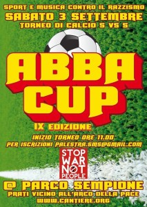 Abba Cup @Sempione! Iscrizione squadre: tornei e sport popolare @ Milano