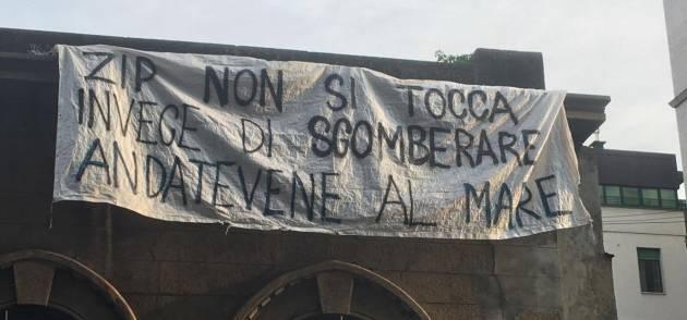 Milano – In corso lo sgombero di ZIP (foto e aggiornamenti)