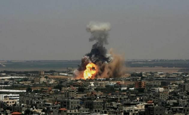 [DallaRete] Su Gaza il bombardamento israeliano più duro dal 2014