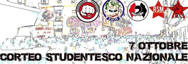 Appello per l'assemblea di Napoli del 17 Settembre per costruire la mobilitazione studentesca nazionale del 7 Ottobre