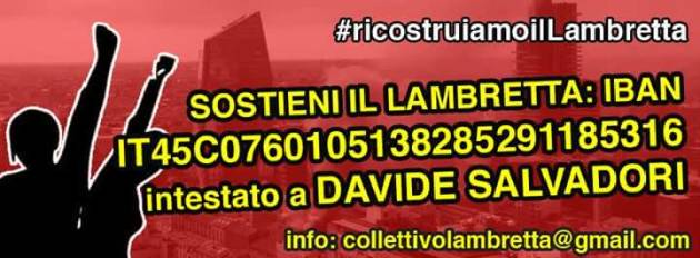 #ricostruiamoilLambretta – Iniziata la raccolta fondi!