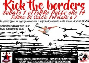 Kick the borders - Torneo di calcio a 7 @ Milano