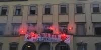 """""""Più forti delle fiamme"""" – Lambretta is back! – Nuova occupazione in via Canzio 4"""