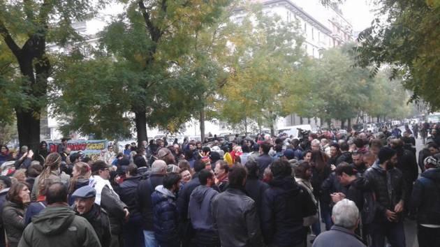 Caserma Montello – la Milano degna si riprende le strade