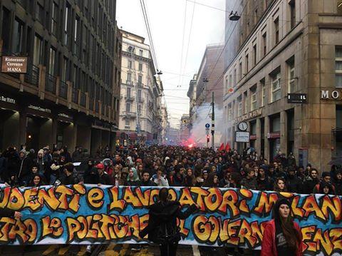 11N – Studenti in piazza – Il sunto della giornata