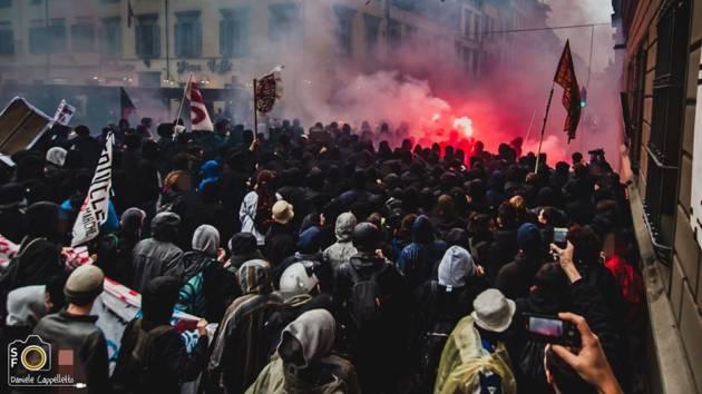 5 Novembre 2016 – Quando il diritto di manifestare è sotto attacco