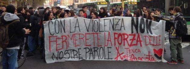 Milano – Inizia la scuola…tornano i fascisti