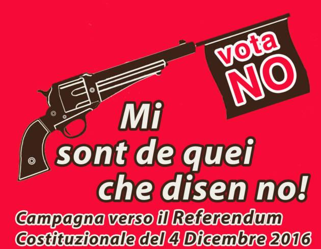 Referendum – Mi sont de quei che disen NO!