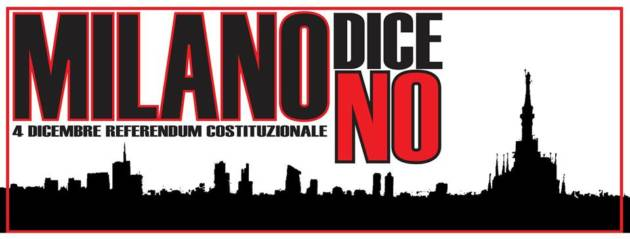 Milano dice NO! (video – foto – appuntamenti)