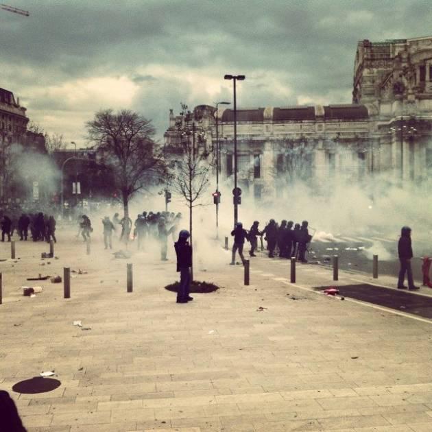 Inizia a Milano il processo per il corteo dello sciopero generale del 12 Dicembre 2014