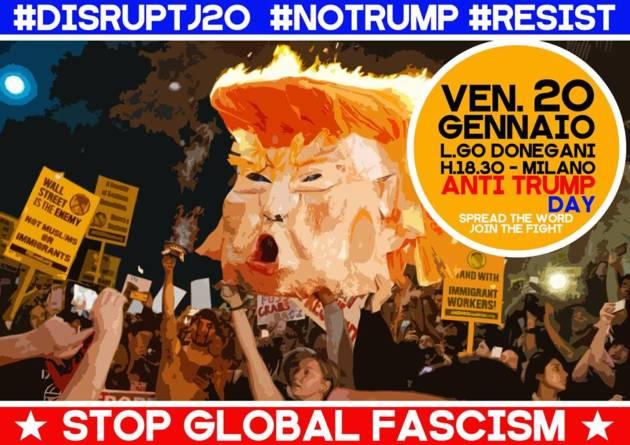 Dagli USA a Milano: SMASH Trump! #disruptj20