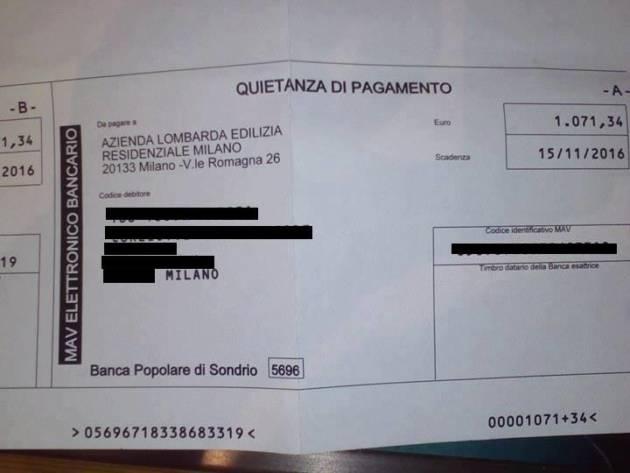 Indennità di occupazione ALER – Chi paga i debiti?