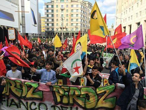 Domani, ore 11 Piazza della Scala, conferenza stampa di lancio del corteo per la liberazione di Ocalan (oggi fermata e rilasciata la nipote)