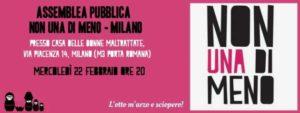 Assemblea pubblica Non Una Di Meno - Milano @ Casa di Accoglienza delle Donne Maltrattate di Milano