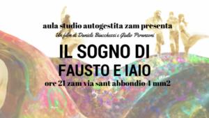 """Aula studio ZAM presenta: """"Il sogno di Fausto e Iaio""""@ZAM @ ZAM"""