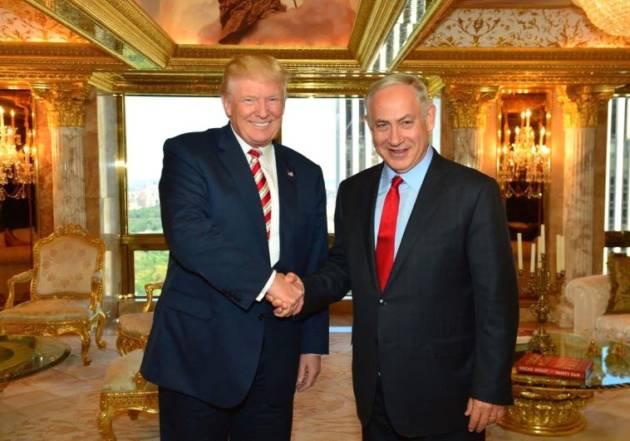 [DallaRete] Addio Stato di Palestina. Trump pensa di abbandonare la soluzione dei Due Stati