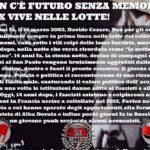Studenti per Dax – Pre-concentramento studentesco il 16 Marzo @ liceo Manzoni