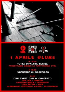 "Volume: Workshop // ""Ohm Sweet Ohm"" Live! @ LUMe"