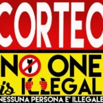 25 Aprile corteo No One Is Illegal