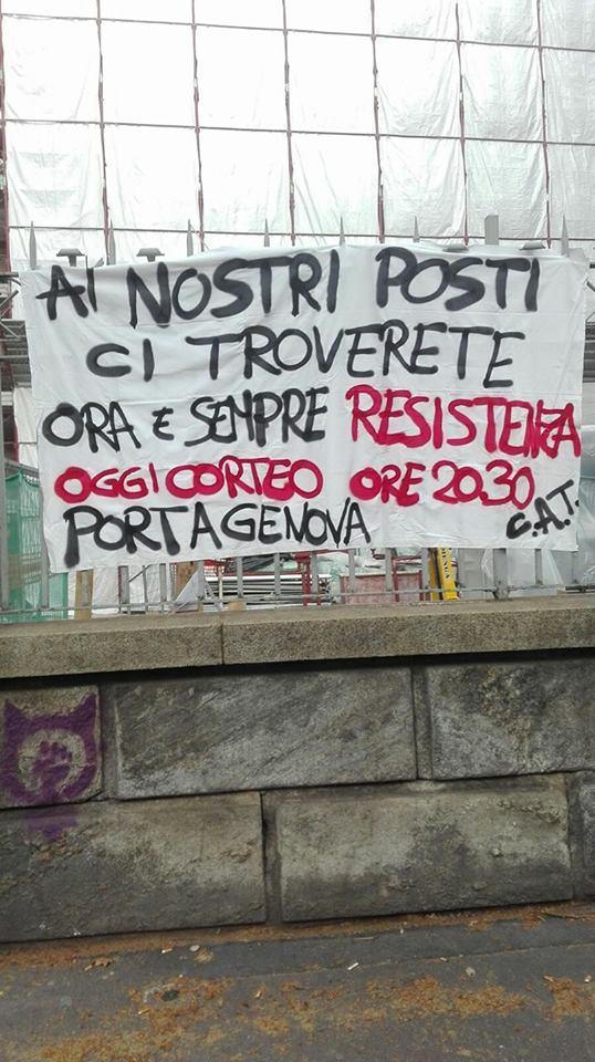 Milano – Dalle scuole contro i fascisti