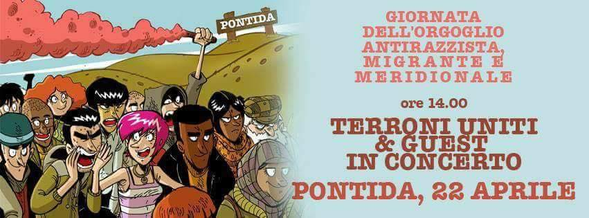 Il 22 Aprile tutti a Pontida per il Festival dell'Orgoglio Antirazzista e Migrante