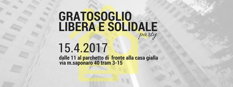 Gratosoglio libera e solidale_party!