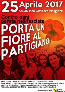 Porta un fiore al Partigiano 2017 @ Milano