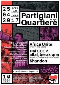 Partigiani in ogni quartiere_decima edizione @ Milano