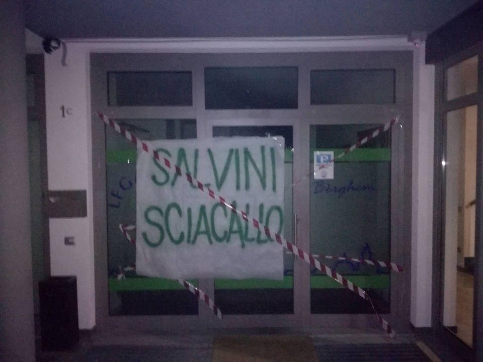 Pd e Questura rastrellano migranti, Salvini sciacalla tutti quanti! Sanzionate sedi del PD e della Lega Nord – Bergamo