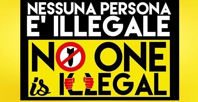 #20Maggio – Nessuna persona è illegale – #NoOneIsIllegal – gli appuntamenti della giornata