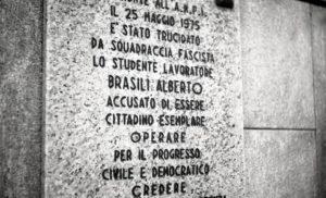 Alberto Brasili - Un omicidio fascista @ Milano