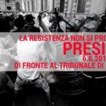 ZAM, la resistenza non si processa! Presidio @ Tribunale di Milano (6 Giugno, ore 9)