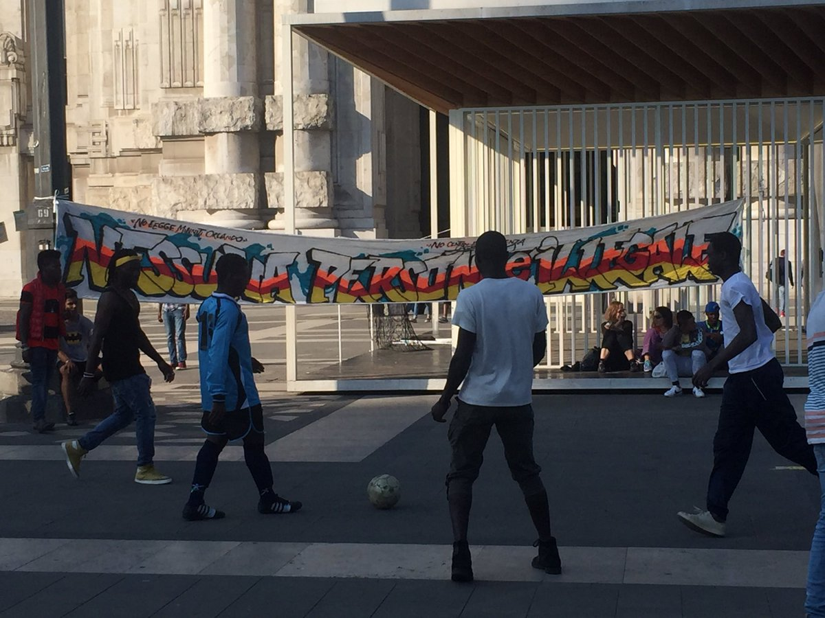 #NoOneIsIllegal – verso il #20Maggio iniziative a Milano e Roma
