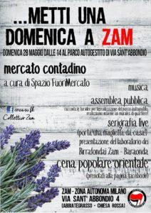 28/5 Metti una domenica a Zam - mercato musica incontri & more!@ZAM @ ZAM