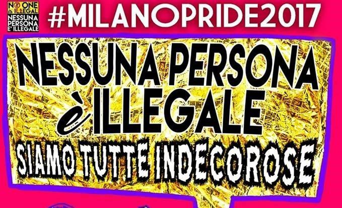 Nessuna persona è illegale, siamo tutte indecorose!