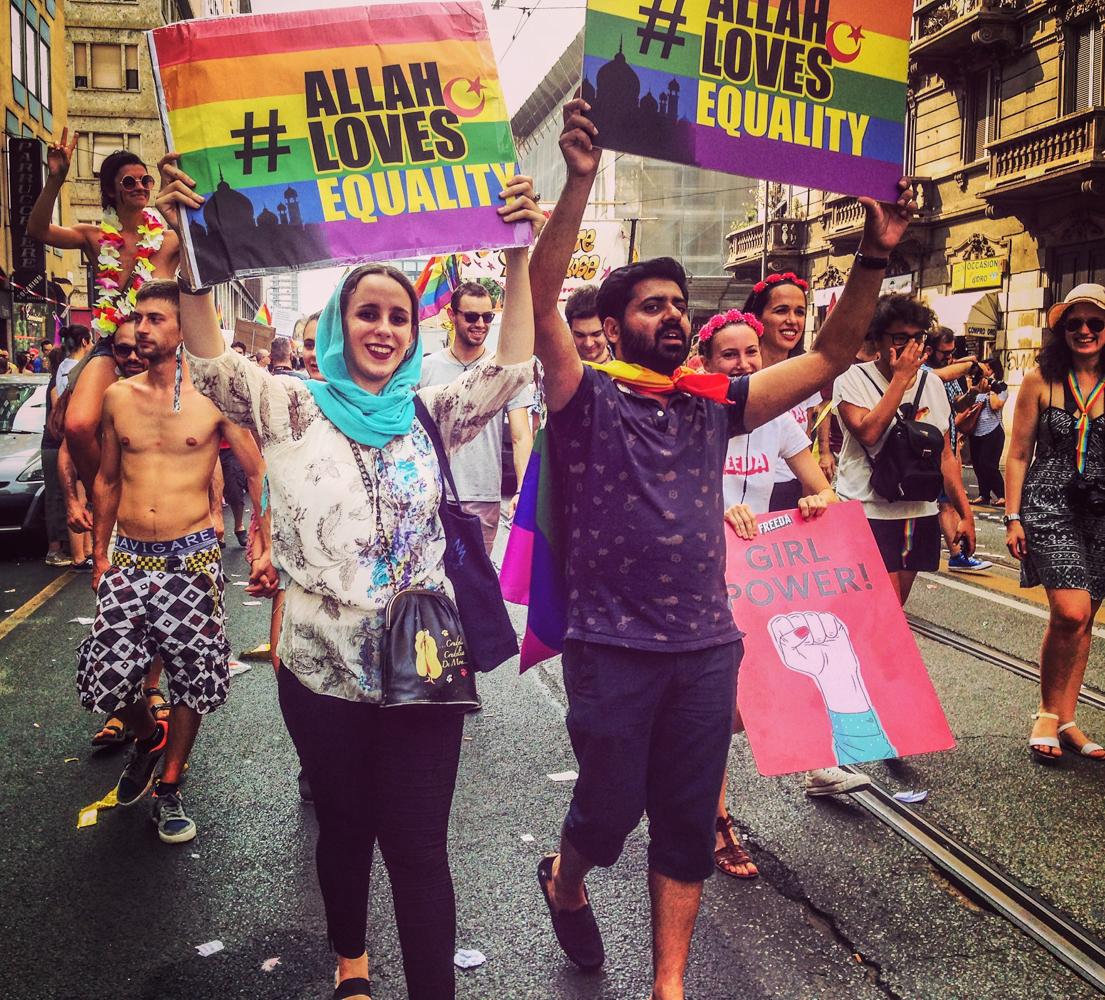 Nessuna persona é illegale, siamo tutte indecorose e non solo – Fotogallery Pride