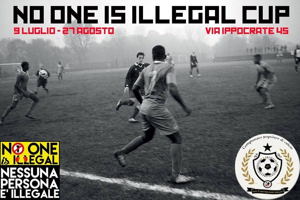 """Dal 9 Luglio parte la """"No One Is Illegal Cup"""""""