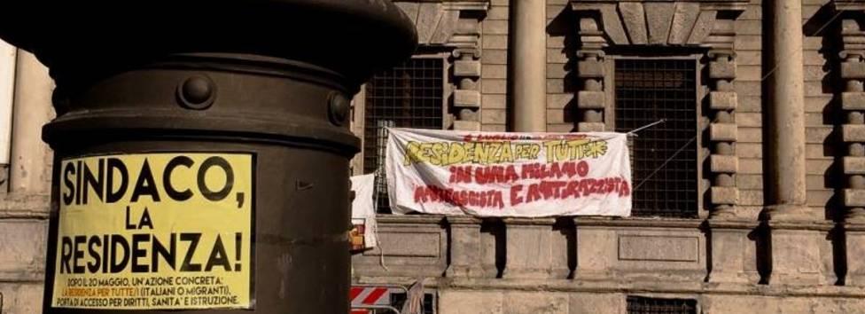 Incontro del 25 Luglio 2017 con il Comune di Milano per richiedere la residenza per tutte e tutti