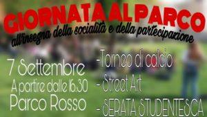 Riprendiamoci i parchi - 7/09 - Parco Rosso @ Milano