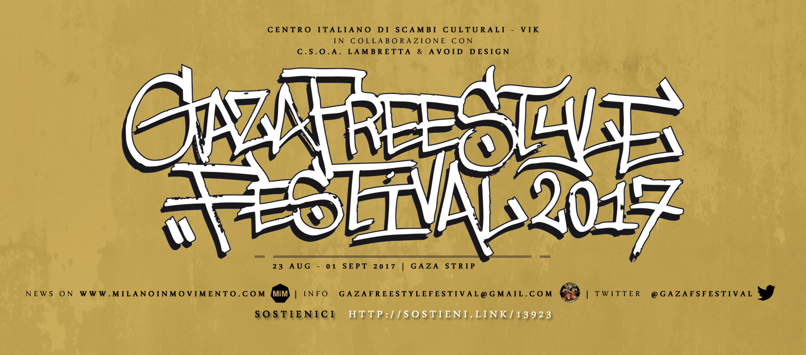 Gaza Freestyle Festival 2017 – Here we are!