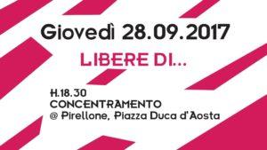 Corteo Non Una di Meno - aborto libero, sicuro e gratuito @ Piazza Duca D'Aosta