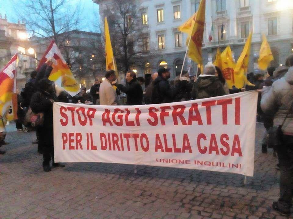 Basta famiglie sulla strada! Presidio 10 Ottobre, ore 17,30 @ Prefettura di Milano