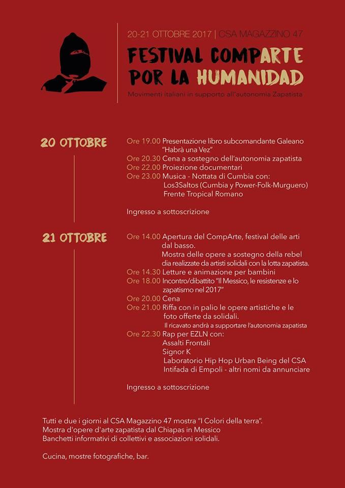 Festival Comparte – 20-21 Ottobre @ Brescia